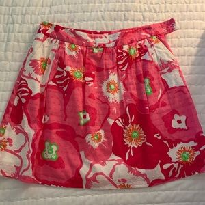 Lilly Pulitzer skirt with pockets